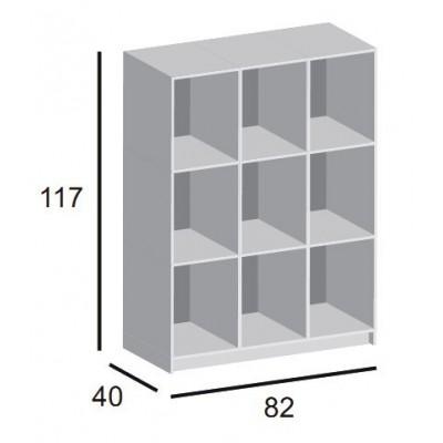 Regał 3x3