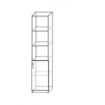 Regał 1/2 1-szafkowy SL-3.1