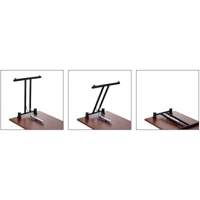 Stół składany czarny