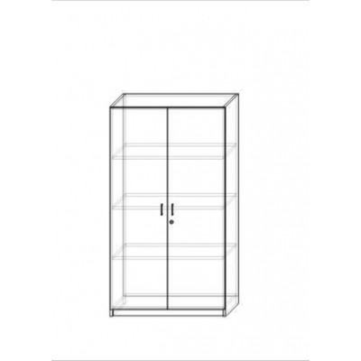 Regał 2-drzwiowy niski (SL...
